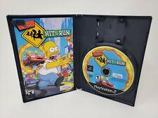 The Simpsons Hit & Run (PlayStation 2, 2003) PS2 CIB Black Label + Registration!