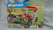 Playmobil, Country Horse Paddock Super Set #6147, 84 Pieces still sealed in Bags