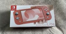 Nintendo Switch Lite Console Coral Pink 32GB !! IN HAND READY TO SHIP SAME DAY