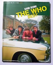 THE WHO BEST BAND SCORE JAPAN GUITAR TAB