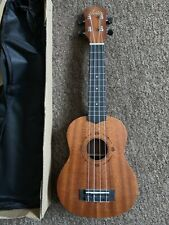 RRP £60 Austin Soprano Acoustic Model Ukulele in all mahogany with gig bag