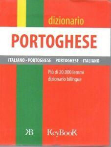 DIZIONARIO PORTOGHESE ITALIANO - Keybook - tascabile - Vocabolario - traduzioni