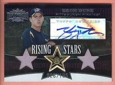 2006 Topps Triple Threads Sepia #101 Zach Duke Dual Jersey Autograph #026/125