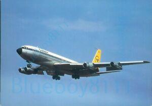 Condor intercontinental jet Boeing 707 330 B Continental size card