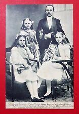 AK NIEDERPOYRITZ bei Dresden um 1906 Instrumental Quartett Oscar Schreyer( 25469