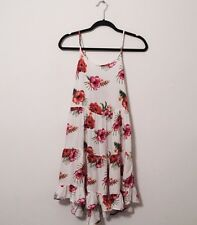 BEACH BY EXIST Tropical Flower Hibiscus Dress