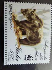 Francobolli blocchetto da 1 francobollo con gomma originale