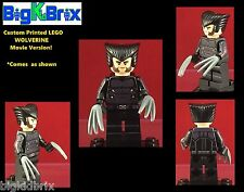 WOLVERINE Xmen Movie Version Custom Printed LEGO Minifigure NO DECALS USED!