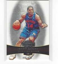 2006-07 TOPPS TRIPLE THREADS BASKETBALL EDDY CURRY #59 #865/899 NEW YORK KNICKS