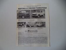 advertising Pubblicità 1982 UAZ 469 B/452 PULMINO/LADA NIVA 2121/DNEPR MT 10/36