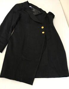 Unique21 one shoulder tuxedo dress Size UK10 {R161}