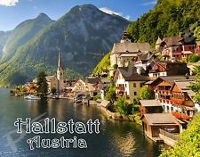 Austria - HALLSTATT - Travel Souvenir Flexible Fridge Magnet