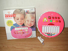 VINTAGE BATTERY OPERATED PINK MAGIC CAKE ORGAN NUMBER 45105 UNUSED IN BOX