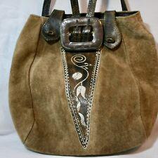 Stil Federkielstickerei | Trachtentasche | Dirndl Tasche | Trachten Lederbeutel