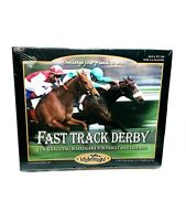 Fast Track Derby Horseracing Board Game 2007 Family Game Night New Sealed