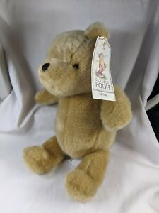 "NEW Gund Classic Winnie the Pooh Bear Plush 8"" Tan Teddy Stuffed Animal w/ Tags"