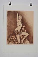 Grégorio Sciltian lithographie Originale épreuve d'artiste Peintre Russe