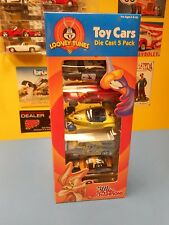 "RACING CHAMPIONS  LOONEY TUNES  5 PACK DIECAST CARS   "" NIP """