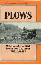 Ih Mccormick Deering Moldboard Amp Disk Trailer Plows Farmall Tractors Amp Horses