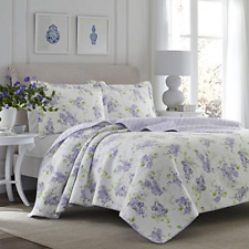 Laura Ashley Home - Keighley Collection - Luxury Premium Ultra Soft Quilt Set,