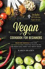 Vegan Cookbook for Beginners : Vegan Diet Essentials with over 100...