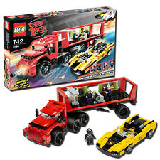 LEGO Speedracer Cruncher Block & Racer X 8160 - 367 Piece Building Set Ages 6+