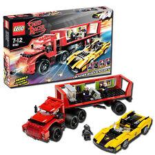 LEGO Speedracer Cruncher Block & Racer X 8160 - 367 Piece Building Set Ages 6+