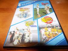 4 FILM FAVORITES THE BAD NEWS BEARS Breaking Training Go To Japan DVD SET SEALED