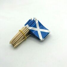 Toothpicks SCOTLAND Flag Paper Cupcake Sticks Party Cocktail Catering Scottish A