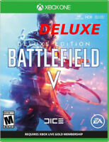 2018 Newest Battlefield V Deluxe Edition Xbox One X 4K HDR Enhenced [Digital]
