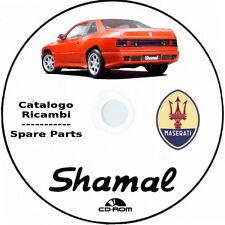 Maserati SHAMAL.Catalogo Ricambi.Maserati Shamal Spare Parts.