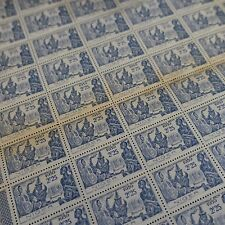 FEUILLE SHEET NIGER COLONY FRANCE NO.68 X50 1939 NEUF MNH (SPOTS + FRECKLES)