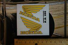 Aufkleber, Sticker, Honda, Flügel, Wings, Motorrad,