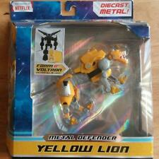 2017 VOLTRON LEGENDARY DEFENDER METAL YELLOW LION ACTION FIGURE 5 1/2 INCH NEW