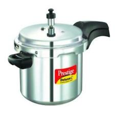Prestige Deluxe Plus Aluminum Pressure Cooker, 5 Liter Various Sizes, Colors