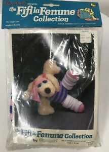 1981 Vintage FiFi La Femme LE MUTT Dog Aerobics Outfit Franland NEW