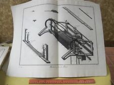 VIntage Print,METIER,Diderot Occupations,Machinery,c1770-80,P5