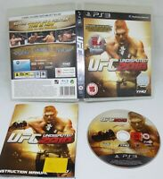 PS3 UFC Undisputed 2010 Sony PlayStation 3 2010 Video Game Cage Fighting MMA