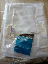 Vintage Usa Nip Nos Penneys Big MacTwill Work Pants Jeans Penn-Prest White 38X30