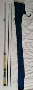 A FINE SEA TROUT LIGHT SALMON ROD 11FT I WOULD SAY #8/9 IN GOOD CLOTH BAG
