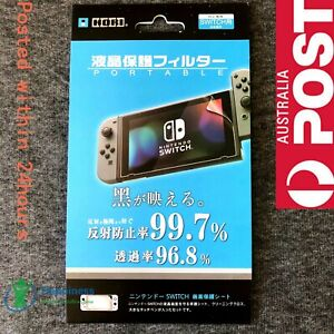 New Clear HORI LCD Screen Protector Film for Nintendo Switch Console