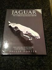 JAGUAR - THE COMPLETE  ILLUSTRATED HISTORY   ............. BOOK by PHILIP PORTER