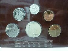 Royal Australian Mint 2005 Uncirculated 6 Coin Set Peace,ComingHome,Remembrance