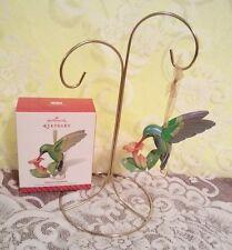 Hallmark 2014 Winged Wonder Hummingbird Beauty of Birds Price tab attached NIB !