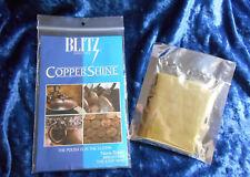 BLITZ COPPER SHINE Polishing Cloth Brilliant Made in USA NonToxic