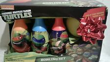 New Nickelodeon Teenage Mutant Ninja Turtles Bowling Set, Xmas/Birthday Gift