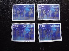 NORVEGE - timbre yvert et tellier n° 1225 x4 obl (A30) stamp norway