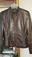 Leather Jacket Size XS