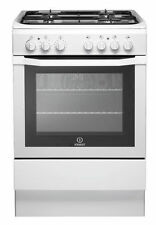 Indesit I6gg1w Standing 60cm Single Cavity Gas Cooker White