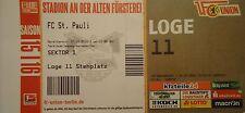 TICKET Loge 2. BL 2015/16 Union Berlin - FC St. Pauli